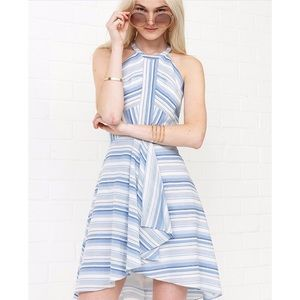 Amanda Uprichard Vineyard Striped Cotton Mini (P)
